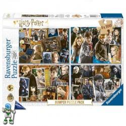 HARRY POTTER 4 PUZZLES 100 PIEZAS