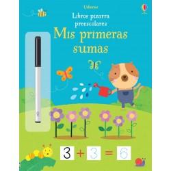 MIS PRIMERAS SUMAS, LIBROS PIZARRA PREESCOLARES USBORNE