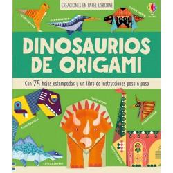 DINOSAURIOS DE ORIGAMI, CREACIONES EN PAPEL USBORNE