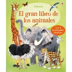 EL GRAN LIBRO DE LOS ANIMALES, LIBROS DIVULGATIVOS USBORNE