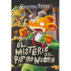 EL MISTERIO DEL PAPIRO NEGRO   GERONIMO STILTON 77