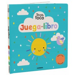 JUEGA-LIBRO , TOCA, TOCA , LIBRO JUEGO CON TEXTURAS