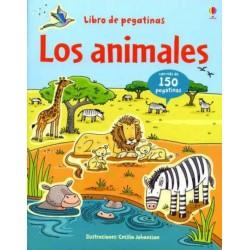 LOS ANIMALES , LIBRO DE PEGATINAS