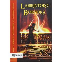PERCY JACKSON EUSKERA 4, LABIRINTOKO BORROKA