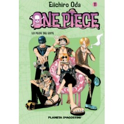 ONE PIECE 11, MANGA SHONEN