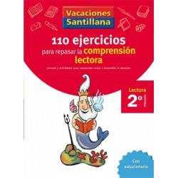 VACACIONES SANTILLANA 2 PRIMARIA 110 EJERCICIOS PARA MEJORAR LA COMPRENSION LECT
