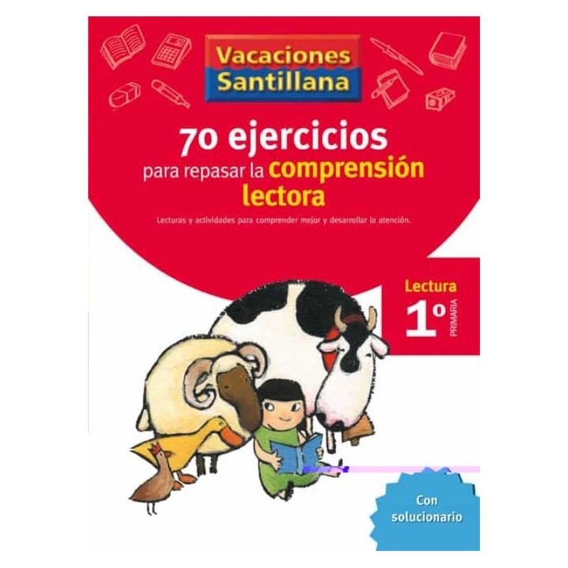 VACACIONES SANTILLANA 1 PRIMARIA 70 EJERCICIO PARA MEJORAR LA COMPRENSION LECTOR