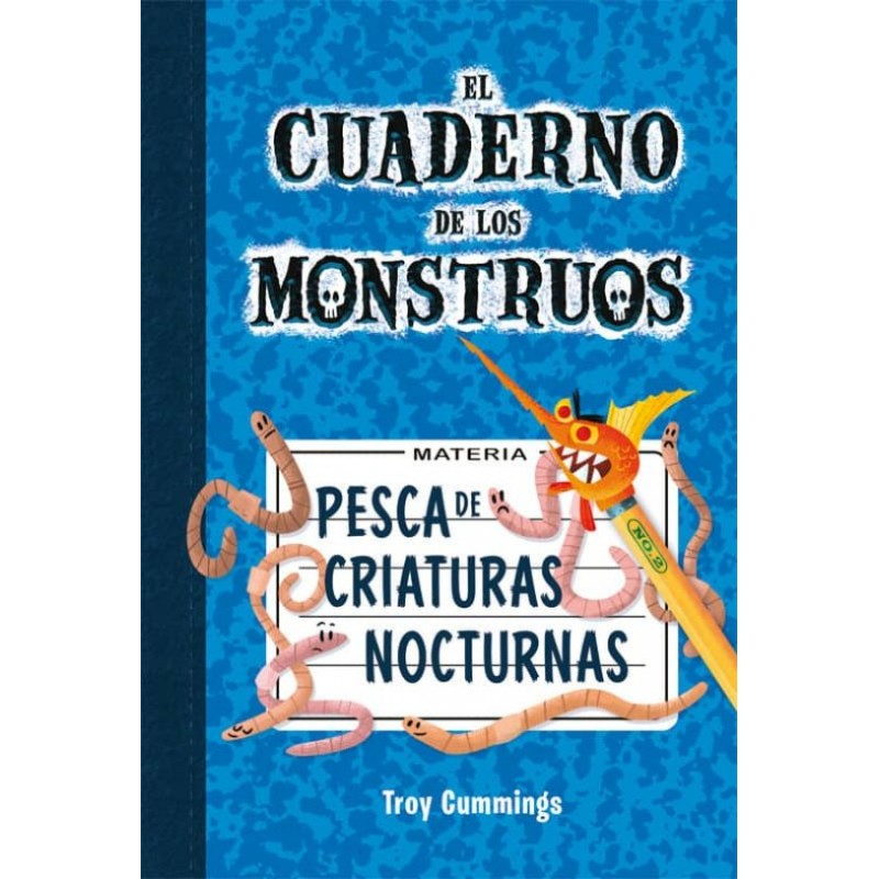 EL CUADERNO DE MONSTRUOS 2, PESCA DE CRIATURAS NOCTURNAS