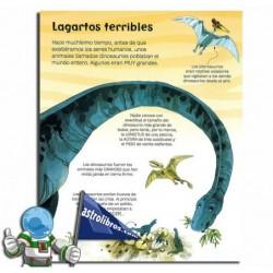 EL GRAN LIBRO DE LOS GRANDES DINOSAURIOS Y OTROS MÁS PEQUEÑOS , LIBRO DESPLEGABLE
