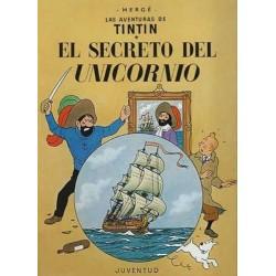 LAS AVENTURAS DE TINTIN 10, EL SECRETO DEL UNICORNIO