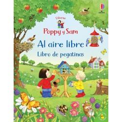POPPY Y SAM AL AIRE LIBRE, LIBRO DE PEGATINAS USBORNE