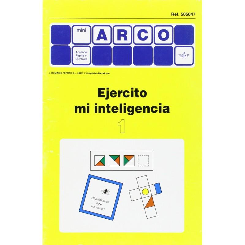 CUADERNO MINI ARCO, 505047, EJERCITO MI INTELIGENCIA 1