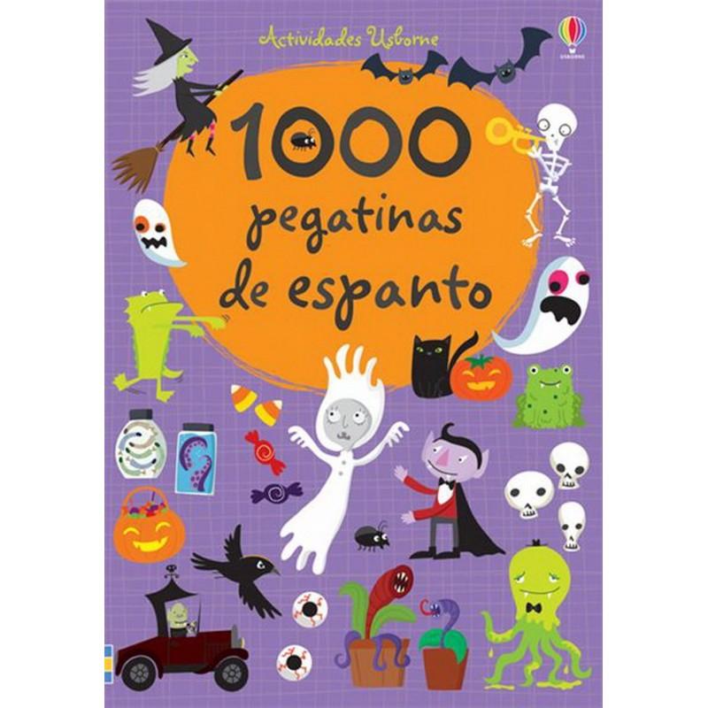 1000 PEGATINAS DE ESPANTO, LIBRO DE PEGATINAS USBORNE