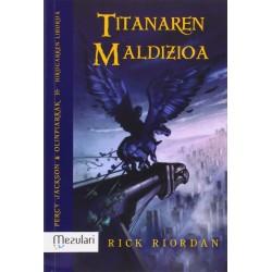 PERCY JACKSON 3 EUSKERA | TITANAREN MALDIZIOA