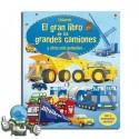 El gran libro de los grandes camiones y otros más pequeños. Desplegable.
