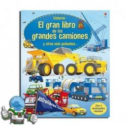 EL GRAN LIBRO DE LOS CAMIONES , LIBRO DESPLEGABLE