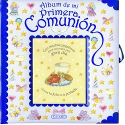 ALBUM DE MI PRIMERA COMUNIÓN AZUL