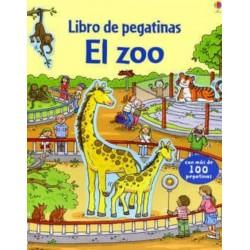 EL ZOO, LIBRO DE PEGATINAS USBORNE
