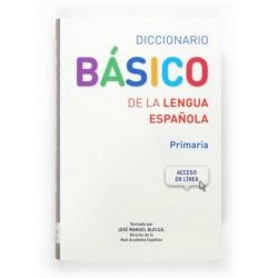DICCIONARIO BÁSICO DE LA LENGUA ESPAÑOLA PRIMARIA SM