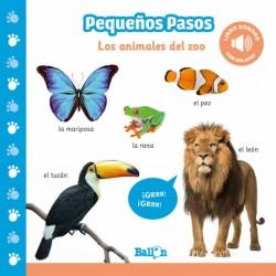 LOS ANIMALES DEL ZOO, PEQUEÑOS PASOS LIBRO SONORO