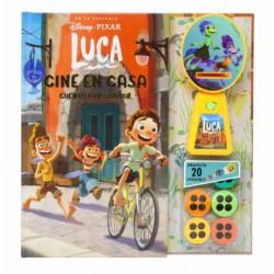 LUCA CINE EN CASA, CUENTO Y PROYECTOR