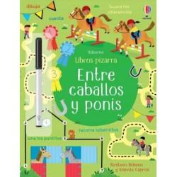 ENTRE CABALLOS Y PONIS, LIBROS PIZARRA USBORNE
