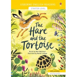 HARE AND THE TORTOISE, USBORNE ENGLISH READER STARTER