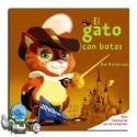 Testurarekin liburua. El Gato con Botas.