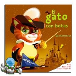 El Gato con Botas. Libro con texturas.