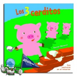 LOS 3 CERDITOS | LIBRO CON TEXTURAS