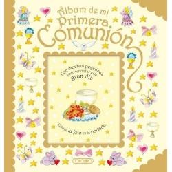 ALBUM MI PRIMERA COMUNIÓN ORO