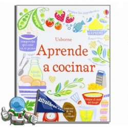 Aprende a cocinar. Libro de cocina.