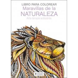 MARAVILLAS DE LA NATURALEZA, LIBRO PARA COLOREAR