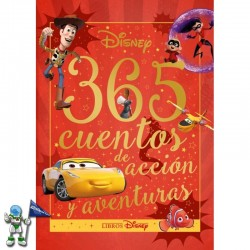 365 CUENTOS DE ACCIÓN Y AVENTURAS, CUENTOS DISNEY