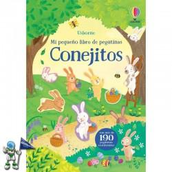 CONEJITOS, MI PRIMER LIBRO DE PEGATINAS USBORNE