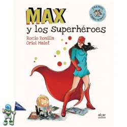 MAX Y LOS SUPERHÉROES