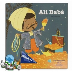 Alí Babá. Libro con texturas.