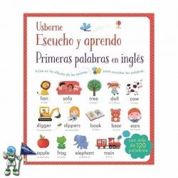 PRIMERAS PALABRAS EN INGLÉS, ESCUCHO Y APRENDO, LIBROS SONOROS USBORNE