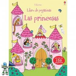 LAS PRINCESAS, LIBRO DE PEGATINAS USBORNE