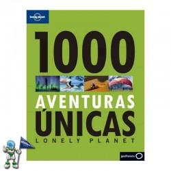 1000 AVENTURAS ÚNICAS, LONELY PLANET