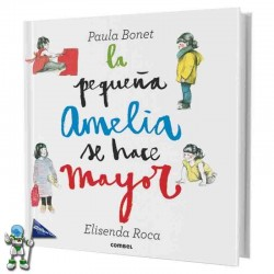 LA PEQUEÑA AMELIA SE HACE MAYOR , LIBRO POP-UP
