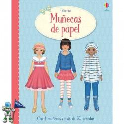 MUÑECAS DE PAPEL , RECORTABLES