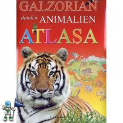 GALZORIAN DAUDEN ANIMALIEN ATLASA