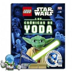 Las cronicas de Yoda. Lego. Star wars.