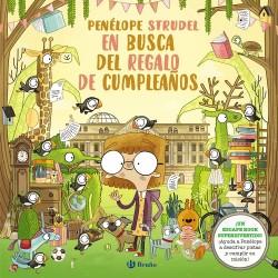 PENÉLOPE STRUDEL EN BUSCA DEL REGALO DE CUMPLEAÑOS, ESCAPE BOOK