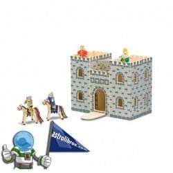 Castillo de madera portátil