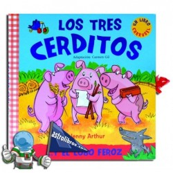 LOS TRES CERDITOS Y EL LOBO FEROZ , LIBRO CARRUSEL POP-UP