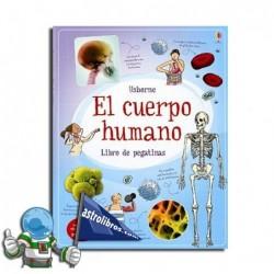 Libro de pegatinas. El cuerpo humano.