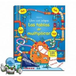 LAS TABLAS DE MULTIPLICAR | LIBRO CON SOLAPAS