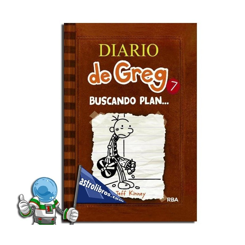 Diario de Greg. Buscando plan.... Libro 7. Erderaz